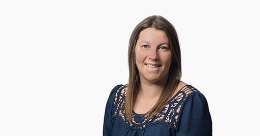 Julie Lesvesque de l'Association du Lac Chapleau