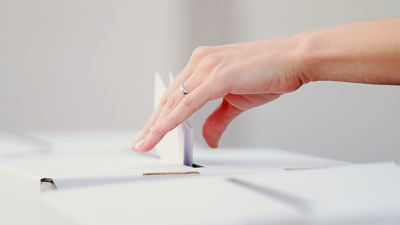 Le 5 novembre, c'est à vous de voter!