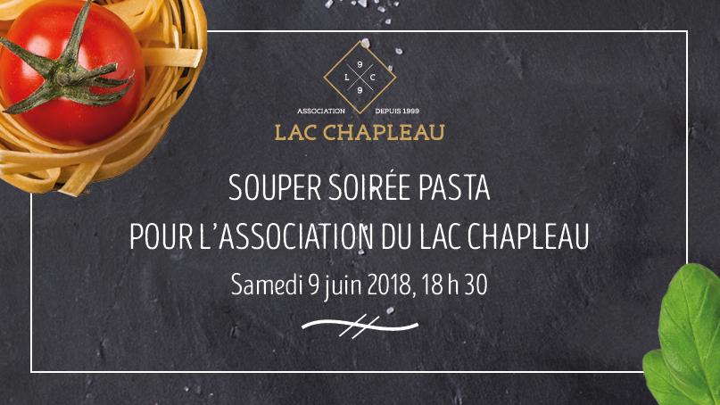 Soirée souper pasta organisée par l'Association du lac Chapleau